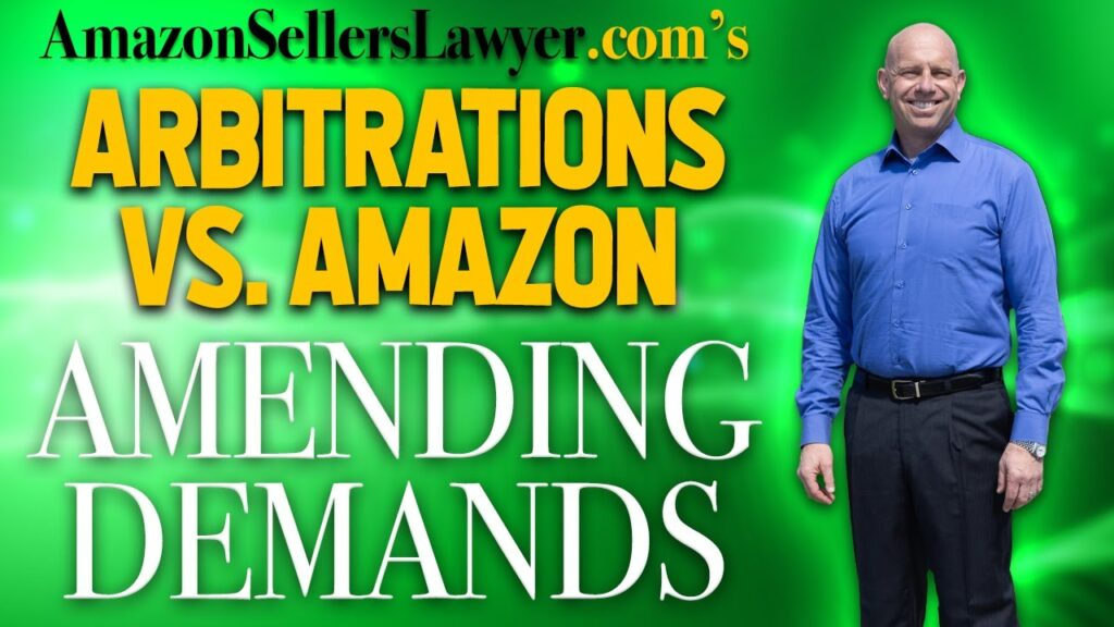 Demands for Arbitration Against Amazon - We AMEND When Other Lawyers & Attorneys Fail