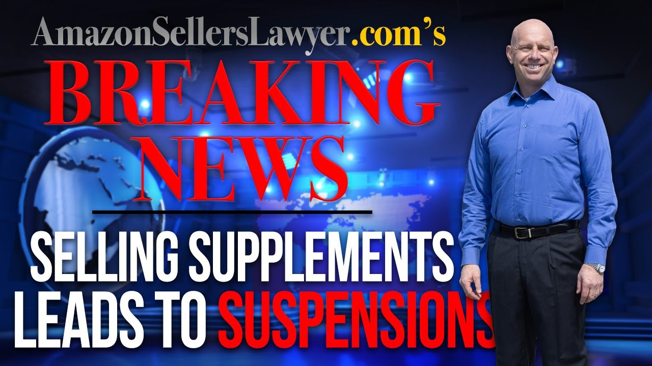 Restricted Dietary Supplements Sold on Amazon Causing Listing & Account Suspensions