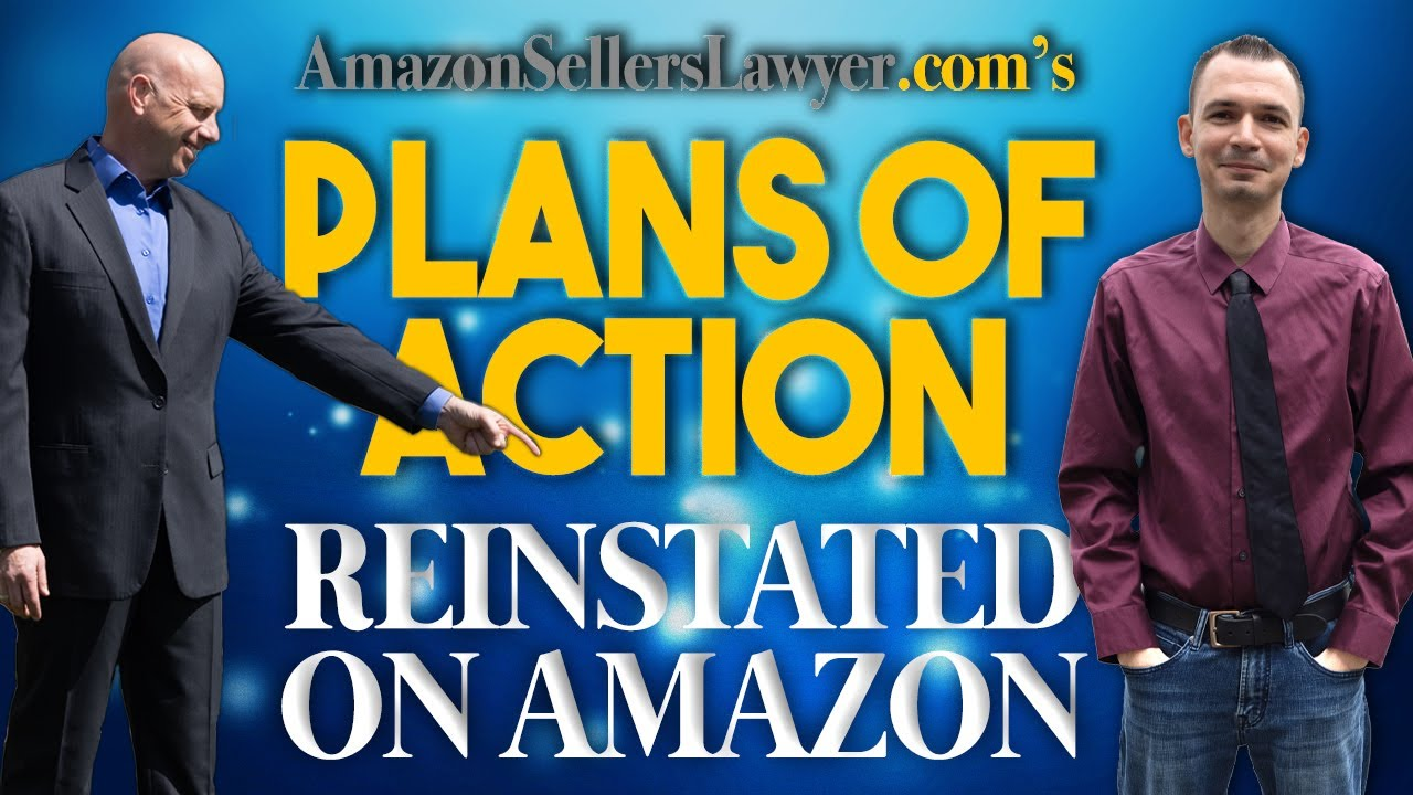 Saving Sellers' Businesses by Writing Plans of Action Reinstating Suspended Accounts on Amazon