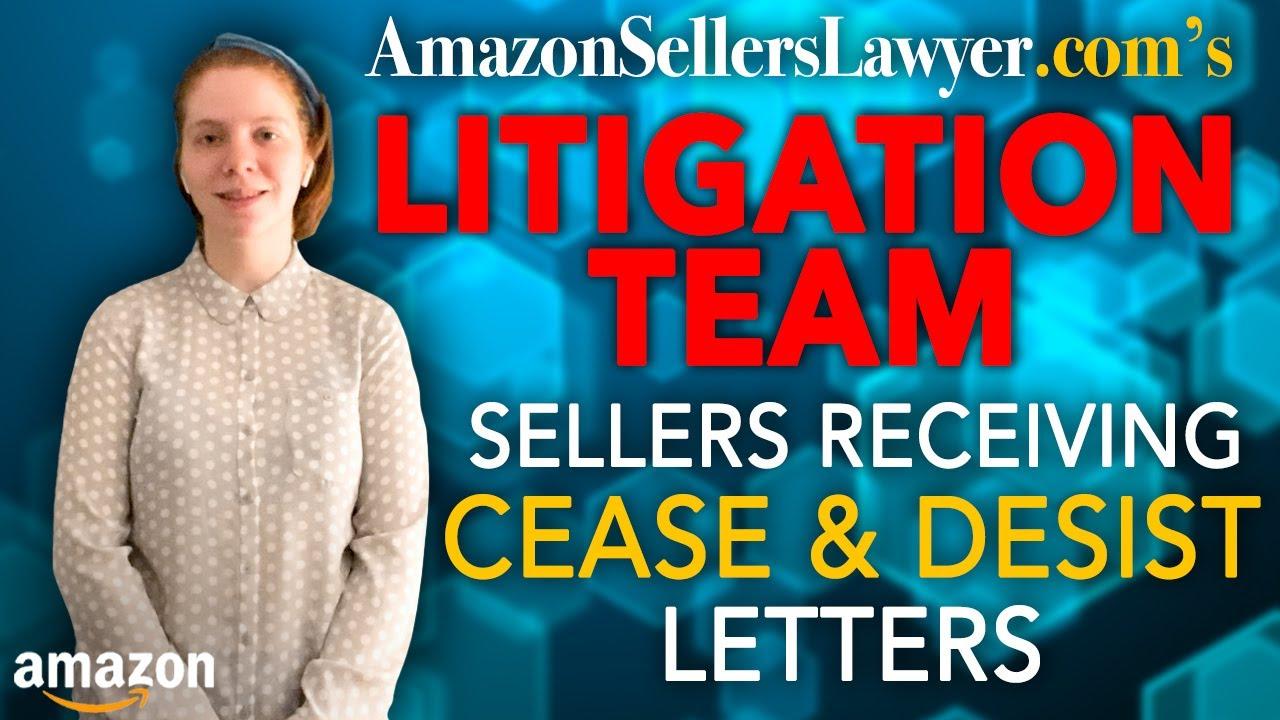 litigation cease desist letters sell through agreements