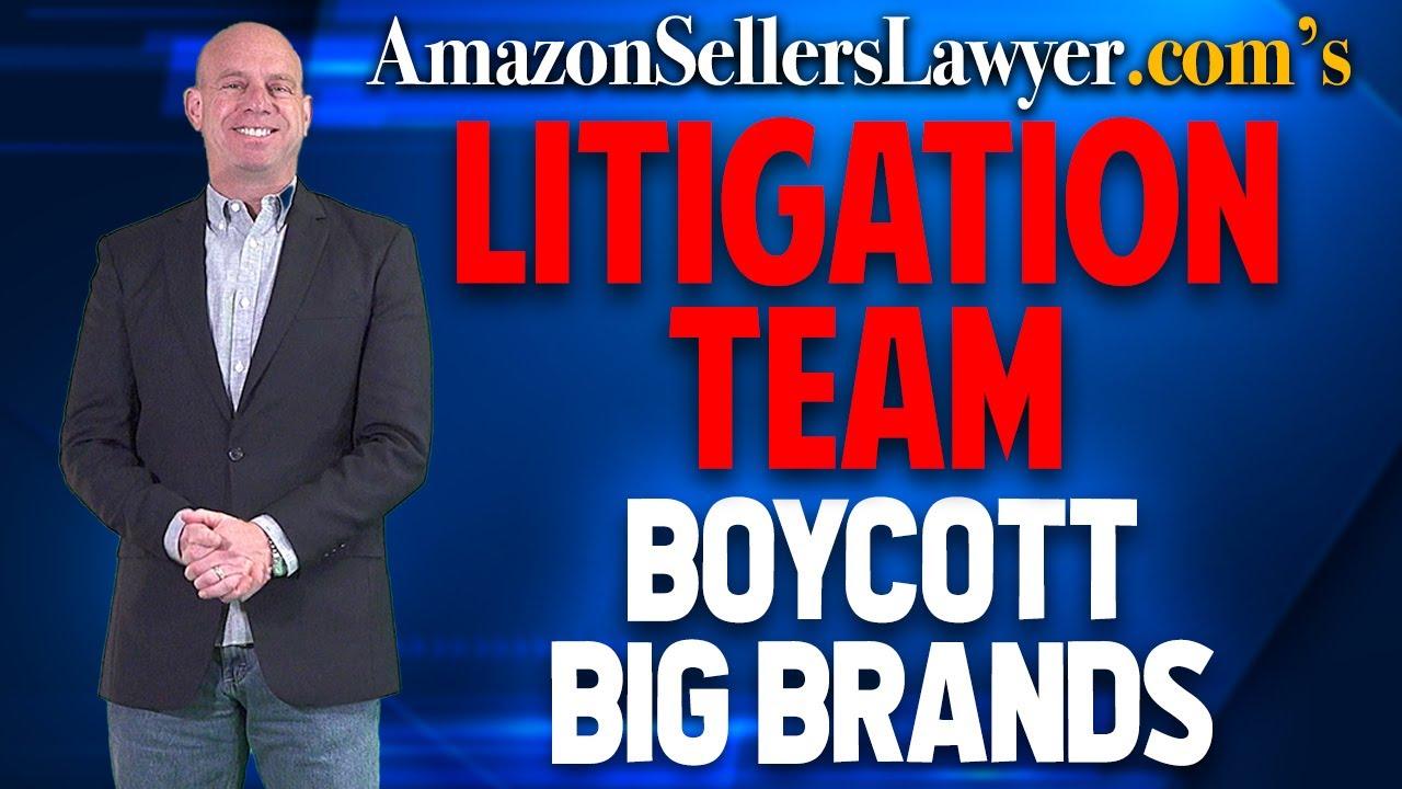BOYCOTT Big Brands Sending Amazon Sellers Unjustified IP Complaints