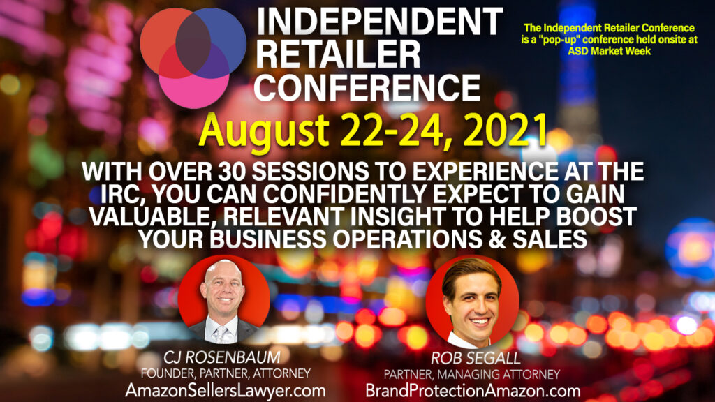 Independent Retailer Conference CJ & Rob