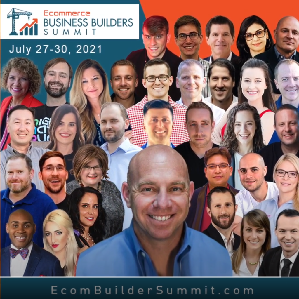 eCommerce Builders Summit July 27-30, 2021