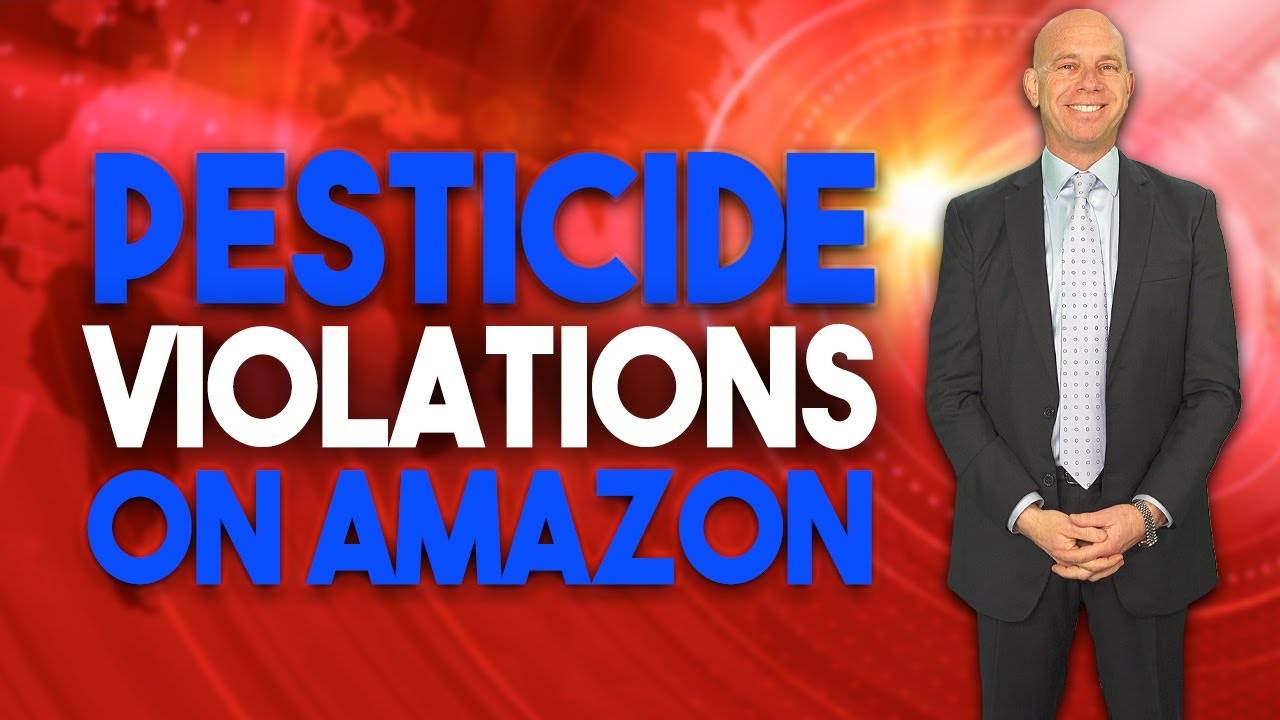 Prohibited Pesticide Hazardous Product Claims on Amazon Resulting in Suspensions
