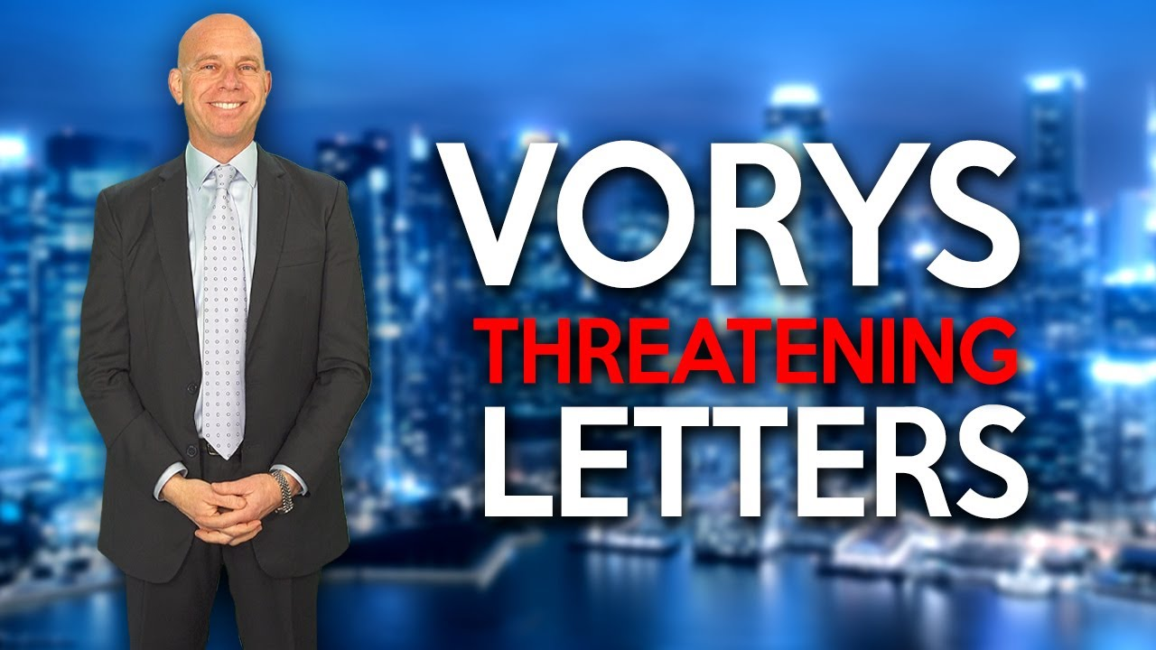 VORYS Threatening Letters to Amazon Sellers - How to Analyze These Claims & Avoid Lawsuits