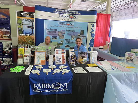 Chamber Fair Booth