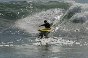 Nick Hinds Kayak Surfing CA Coast