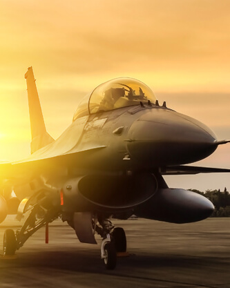Air force fighter plane