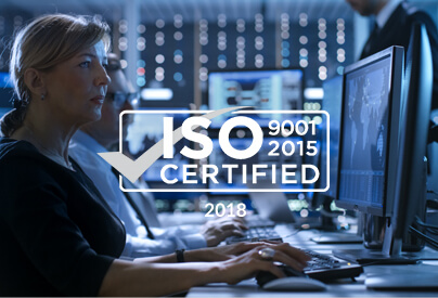 2018 Iso certified
