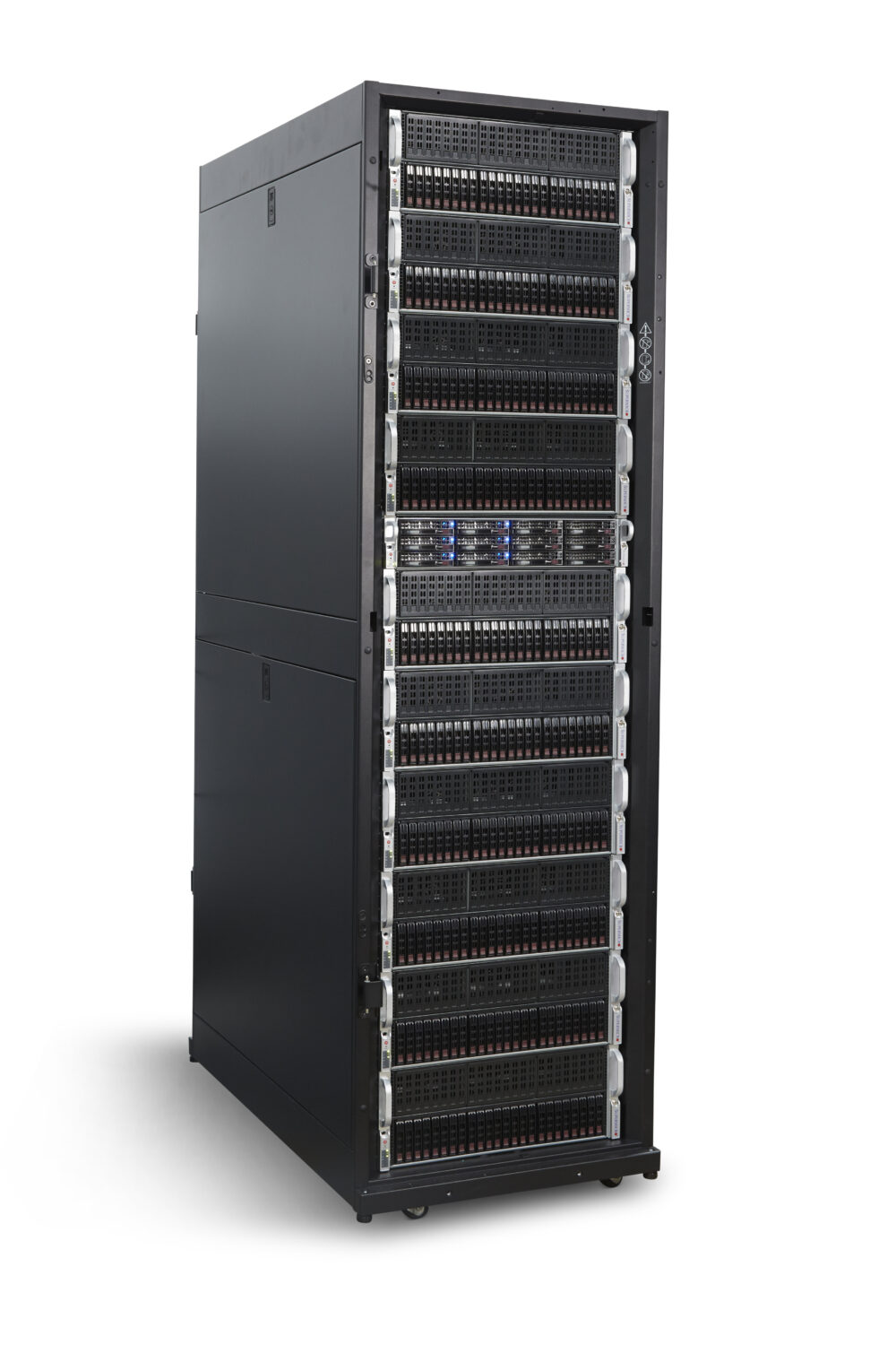 Ace server tower side