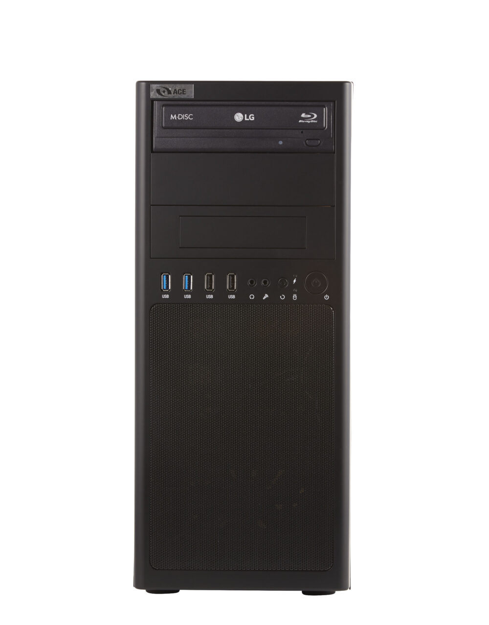 Ace mid-tower PC Front