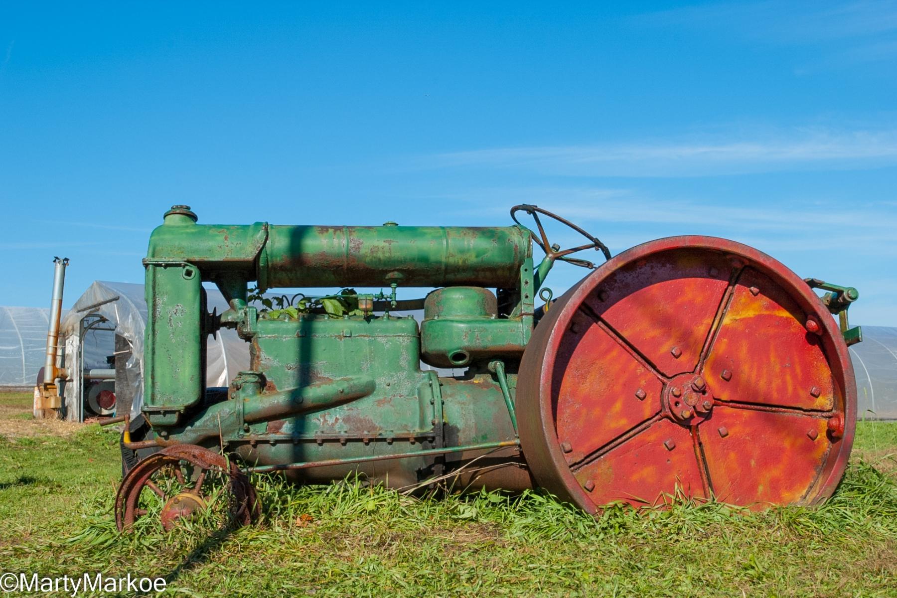 Antique-Tractor-Stuarts-Fruit-Farm