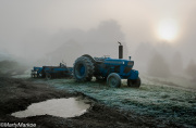 Old-Tractor-at-sunrise
