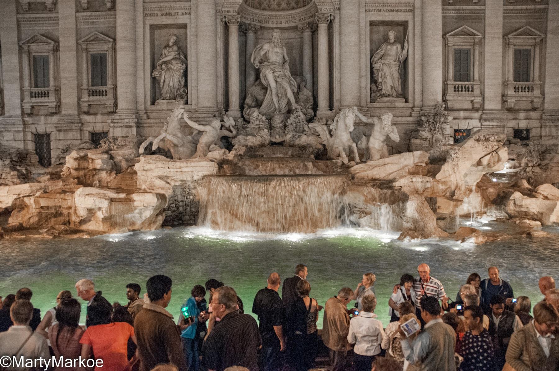 Trevi-Fountain-Midnight