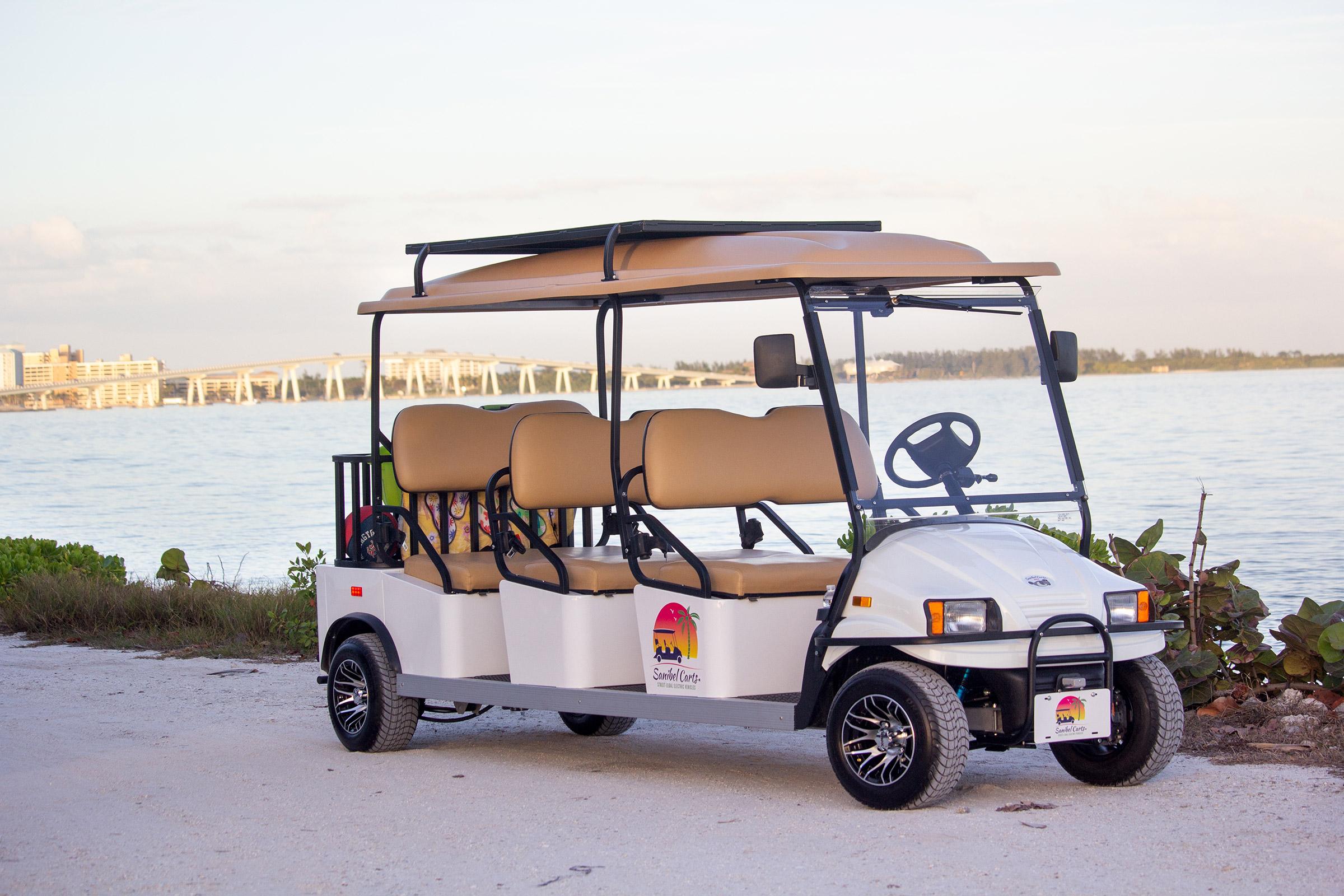 6-Seater Golf Cart