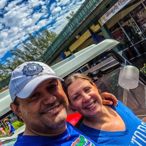 Gator Fans Love Sanibel Carts