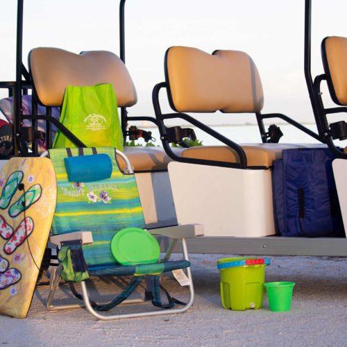 Sanibel Carts Beach Gear