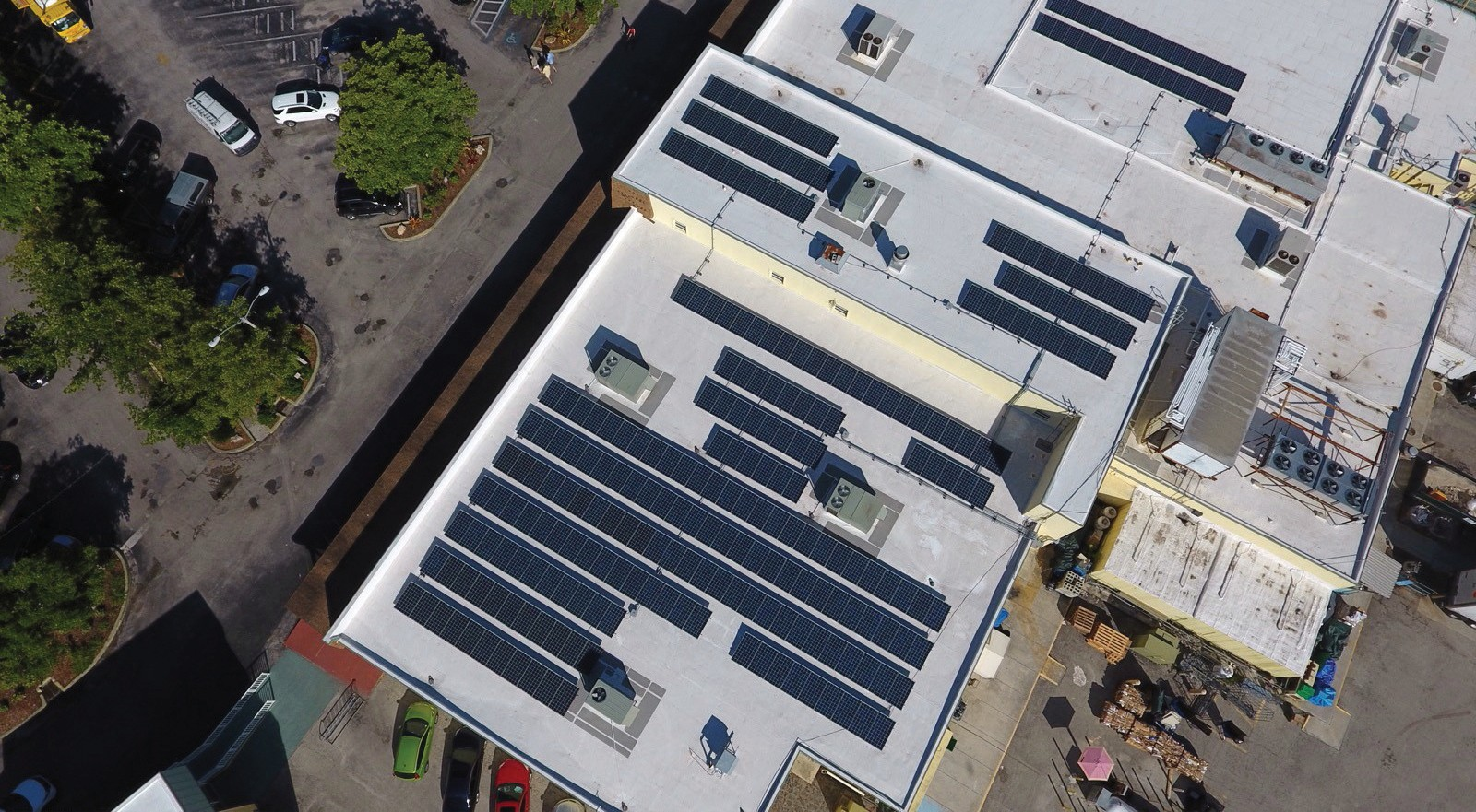 solar panels on bailey's general store