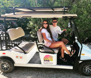 Sanibel Carts rents street-legal golf carts.