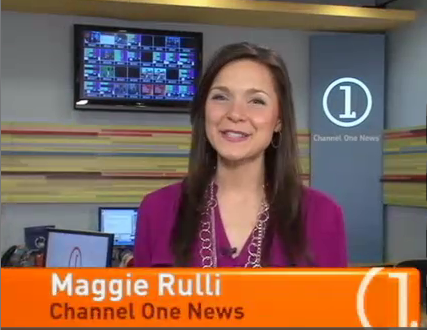 Maggie Rulli gets off to bad start at Channel One News.