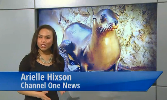 Arielle Hixson joins sinking ship Channel One News