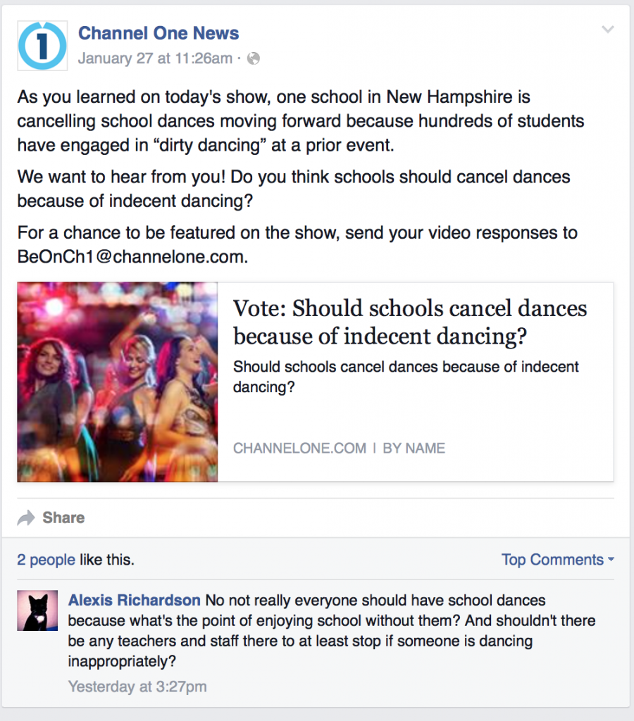 """Houghton Mifflin's Channel One asks third graders about """"dirty dancing"""""""