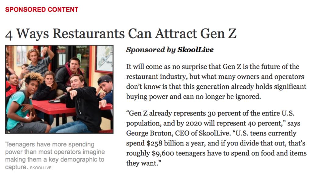 Skoollive CEO targets teens