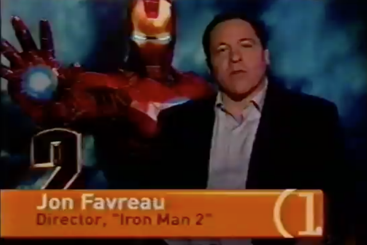 Channel One News allows Iron Man director to promote his movie on taxpayer time. (2010)