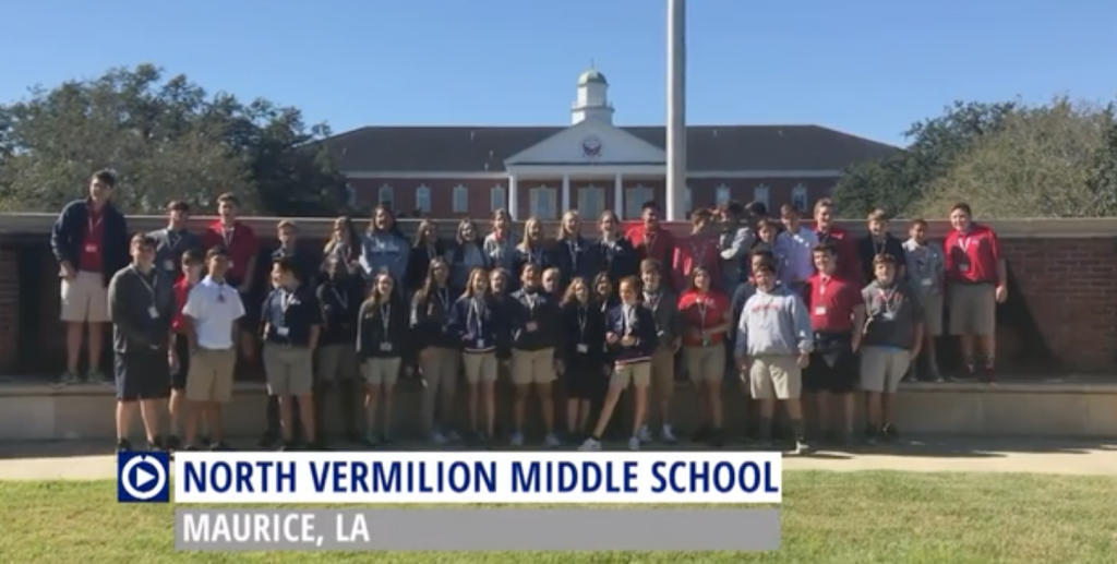 North Vermilion Middle School (LA) wastes school time with Channel One.