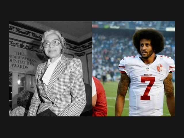 A look back at 2017: Disgusting – Channel One News tells children Colin Kaepernick is like Rosa Parks
