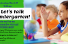 Kindergarten Information Workshop 3-31-2001 at 9:30 AM