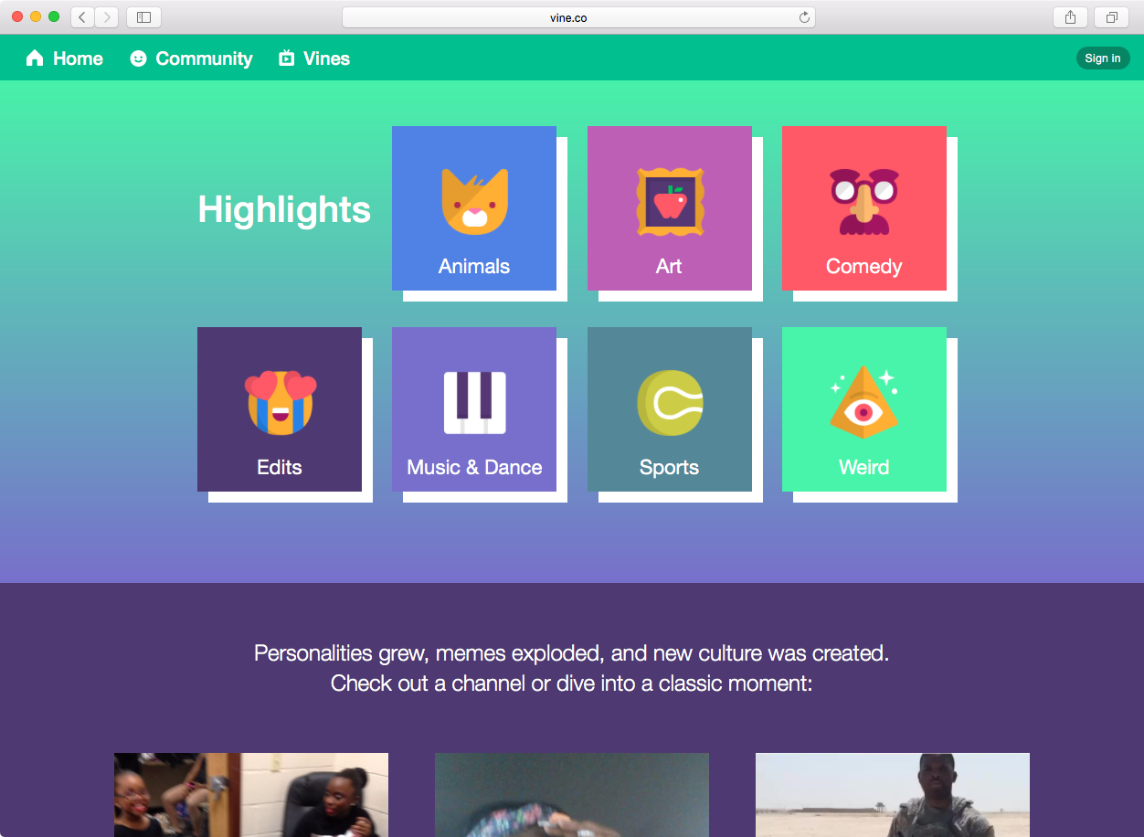 vine archive | Be Awesome Digital | Social Media Experts