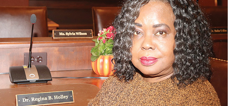 Dr. Regina Holley celebrated for her commitment to PPS students