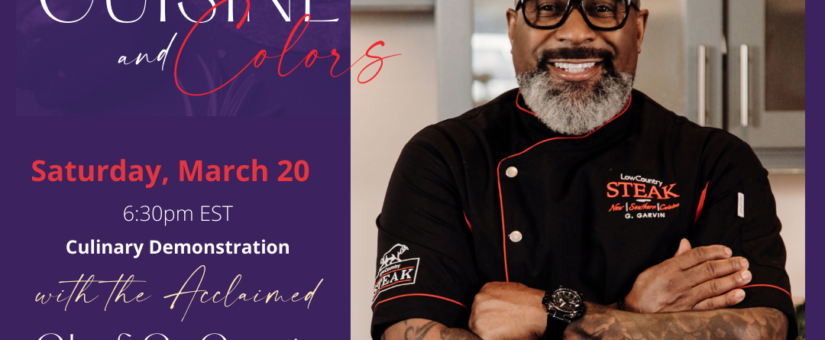 Cuisine and Colors Arts Scholarship Fundraiser Event