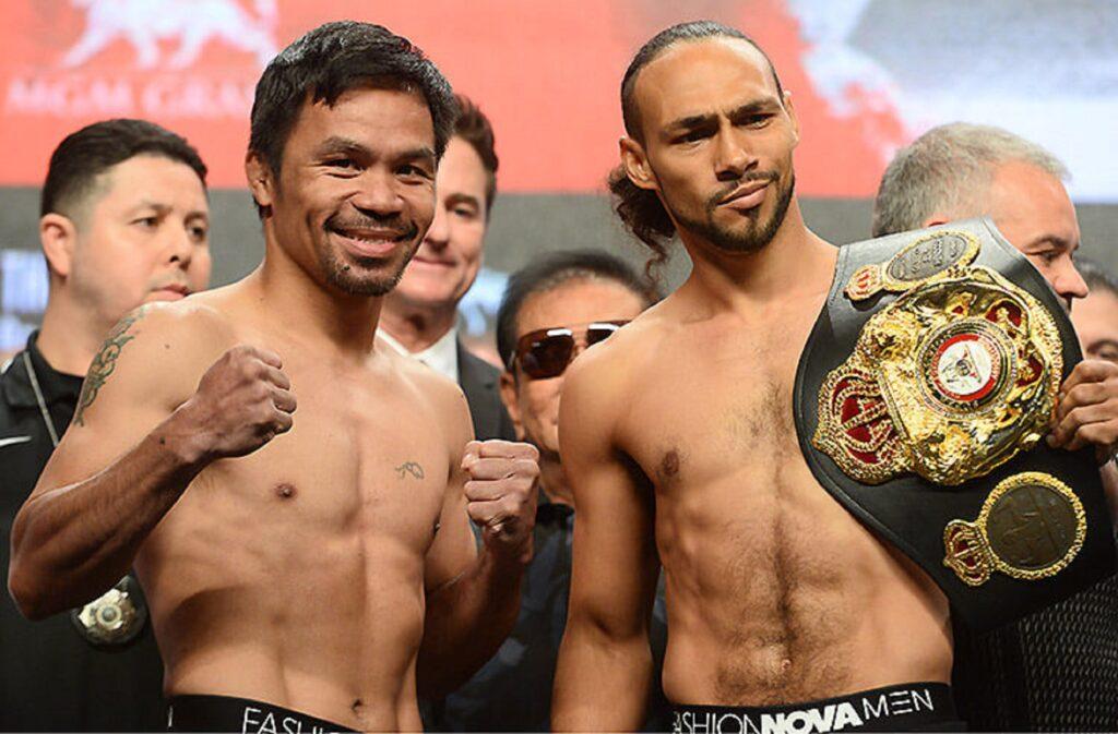 Manny Pacquiao pelea esta noche por el título welter de la AMB
