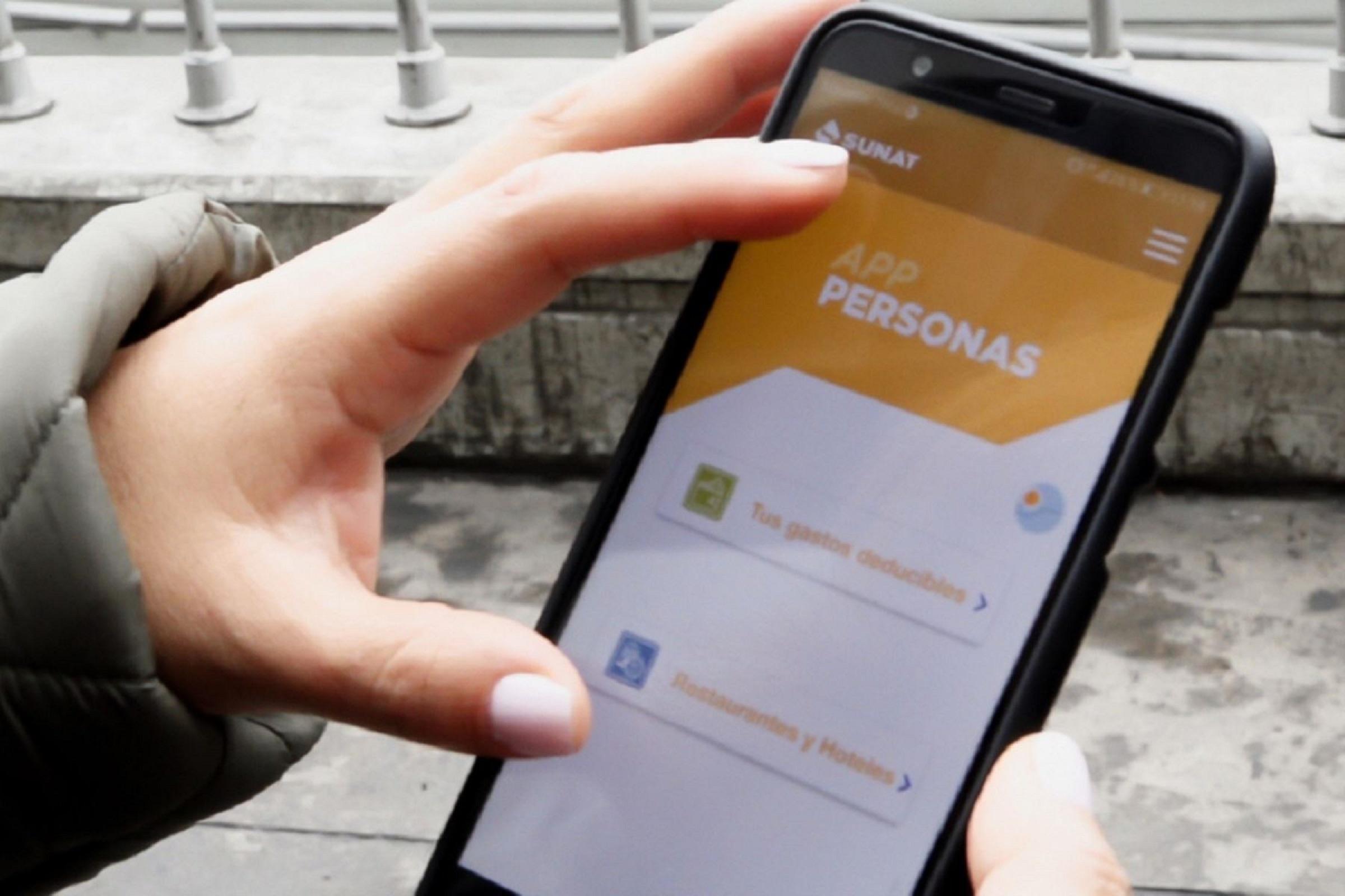 SUNAT presenta nueva aplicación para móviles