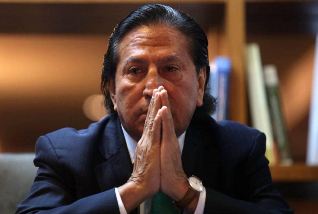 Encuentran $ 40,000 en una maleta durante la detención del ex presidente Alejandro Toledo