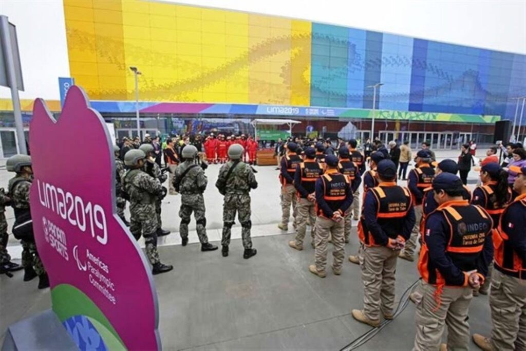 Seguridad por aire, mar y tierra durante los Juegos Panamericanos Lima 2019