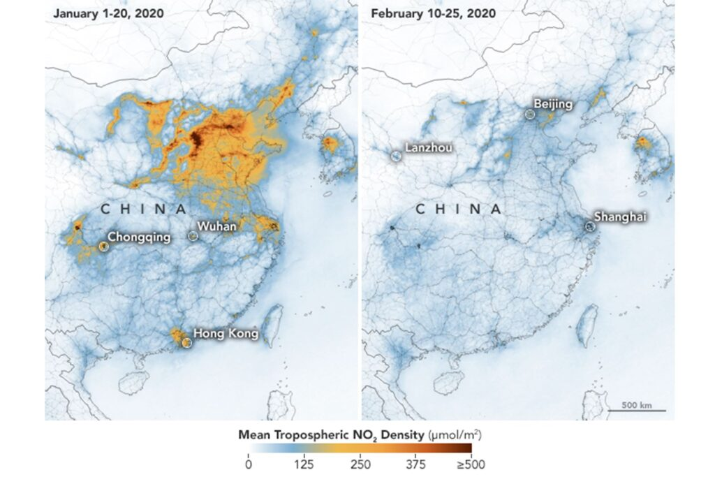 China contaminación