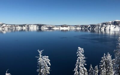 Crater Lake and the Weight of Snow