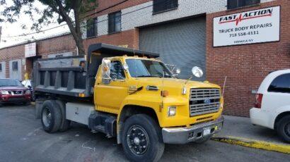 Fiberglass Repair Fast Action Truck body