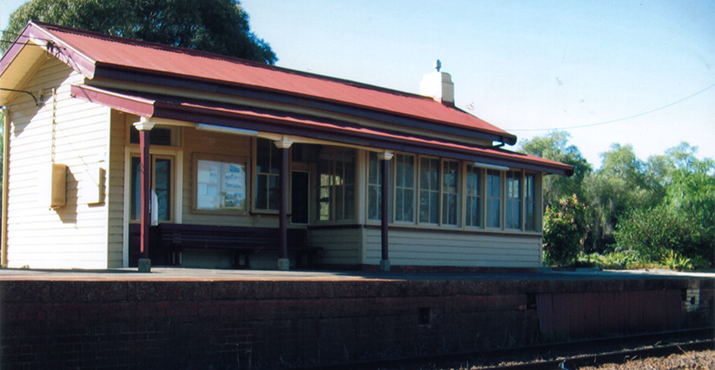 Avenel Train Station
