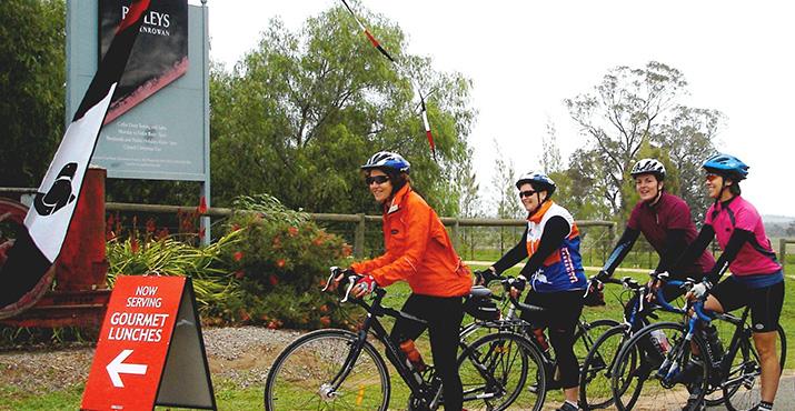Bikes at Baileys