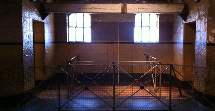 Melbourne Gaol Gallows