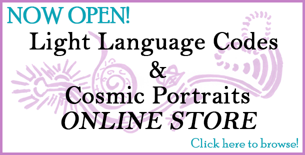Jacquelin Smith's Light Language Codes & Cosmic Portraits Store Now Open