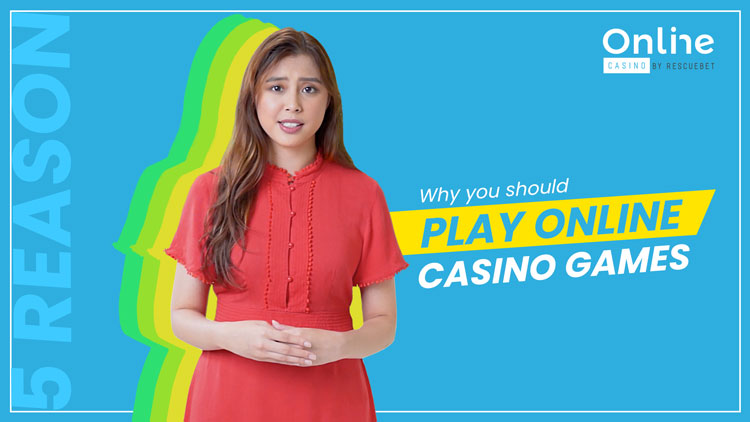 5 Reasons Why You Should Play Online Casino Games Blog Featured Image