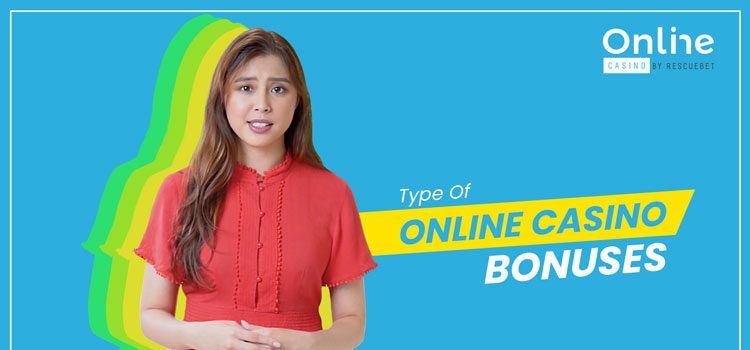 Different Types Of Online Casino Bonuses Blog Featured Image