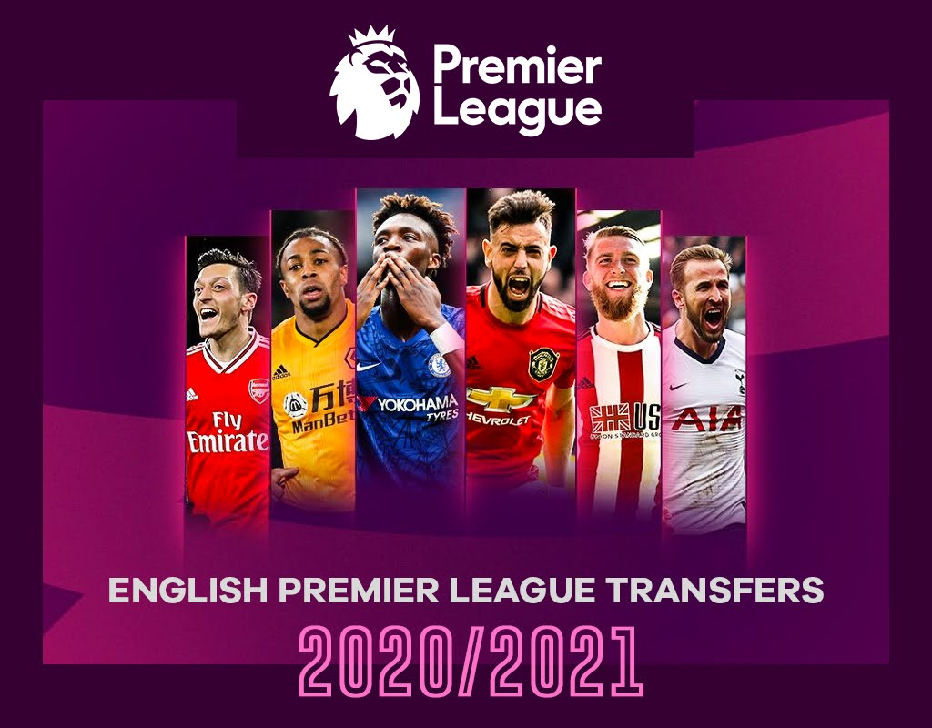 English Premier League Transfers - 2020/2021