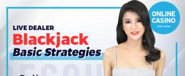 Live Dealer Blackjack Basic Strategies Blog Featured Image