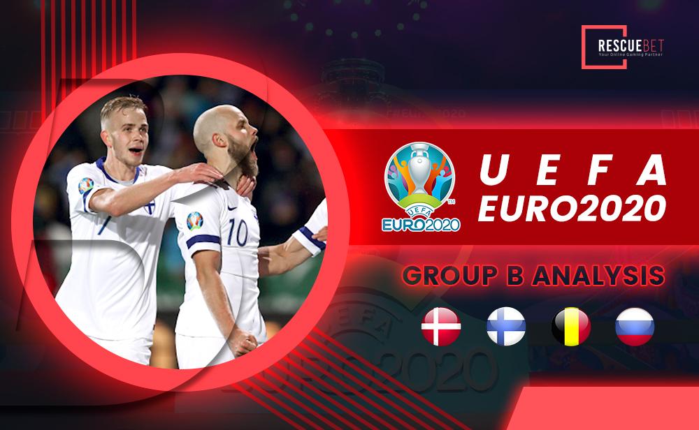 Euro 2020 Group B Analysis Blog Featured Image